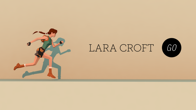 Original key art for Square Enix Montreal's Lara Croft GO