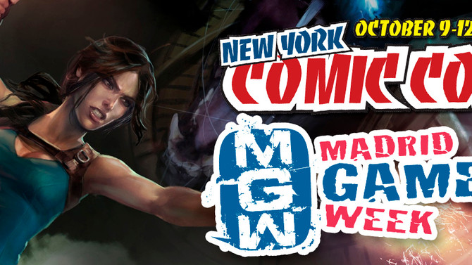 Lara Croft and the Temple of Osiris will be in NY COMIC CON and in MADRID GAMES WEEK