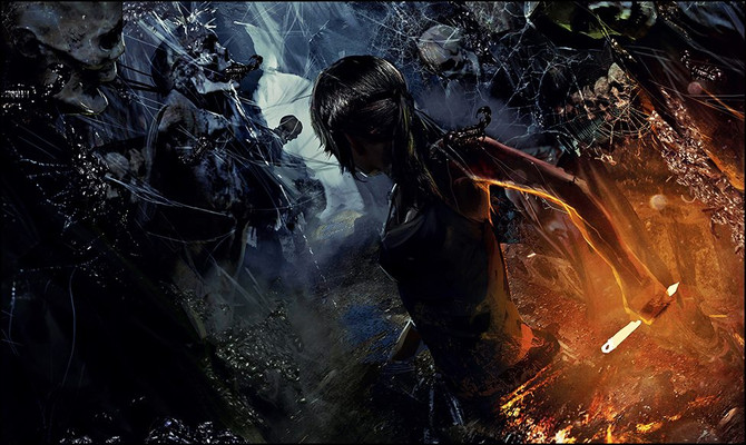 "New concept-arts of ""Rise of the Tomb Raider"""