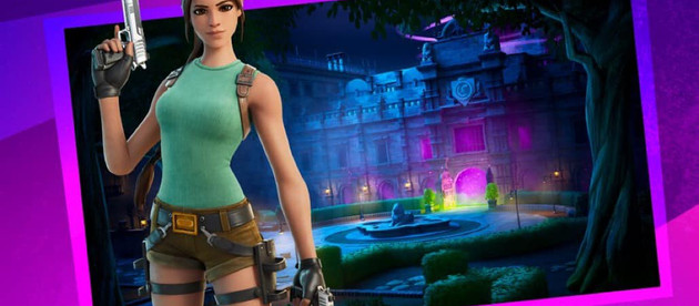 Croft Manor will be a playable level in Fortnite next week