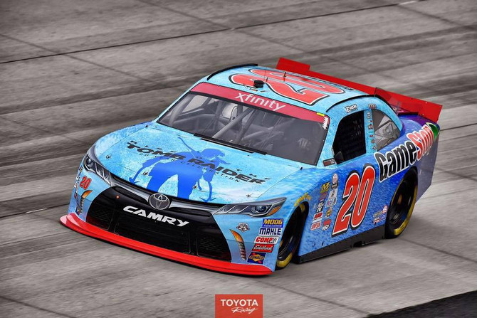 Rise of the Tomb Raider 20 Year Celebration is the new sponsor of Erik Jones