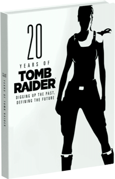 "Now available the new book ""20 Years of Tomb Raider: Digging up the Past, Defining the Future&q"