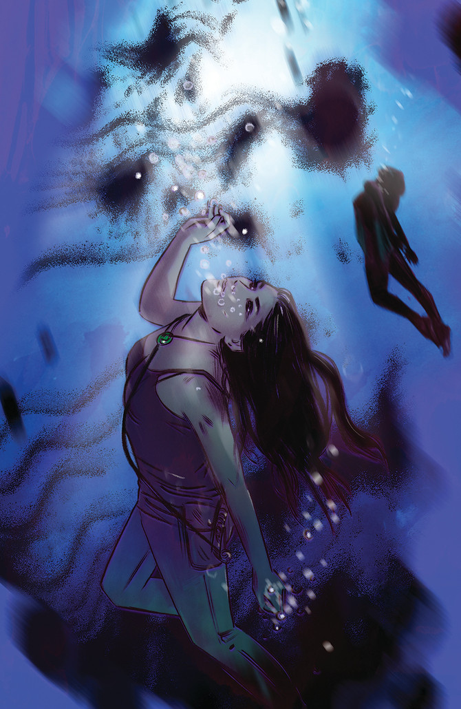 New cover for Tomb Raider II #10
