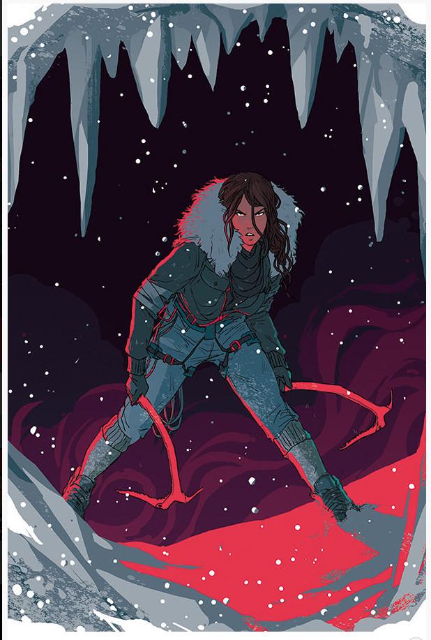 New cover Tomb Raider Inferno Vol 4