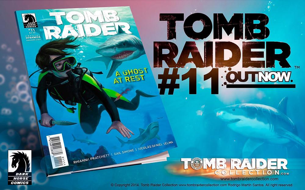 tomb raider comic 11