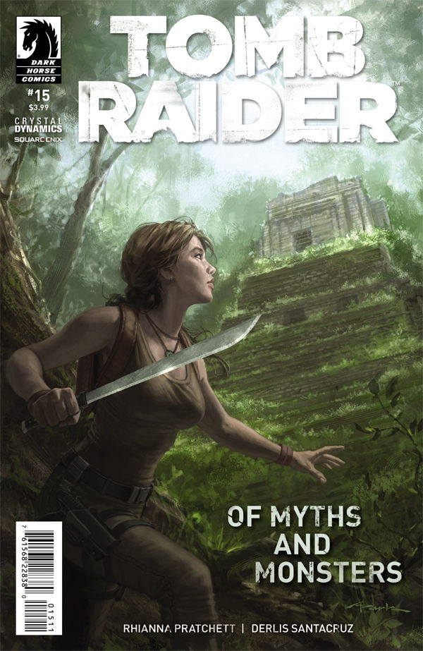 Preview pages of Tomb Raider Comic #15