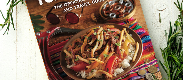 Final cover of new Tomb Raider-inspired cookbook revealed.