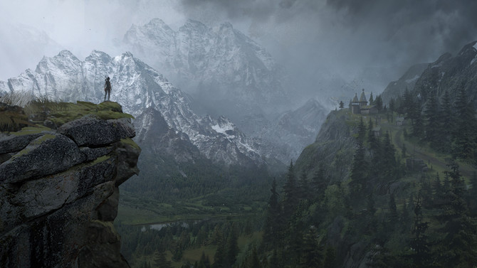 Exclusive concept-art of Rise of the Tomb Raider