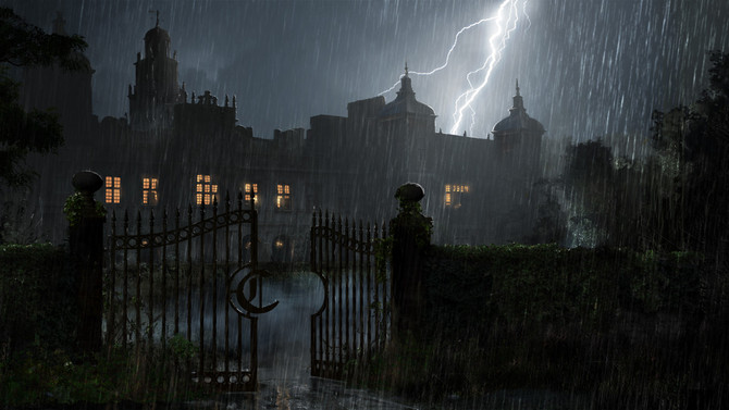 New screenshots of Croft Manor and more!