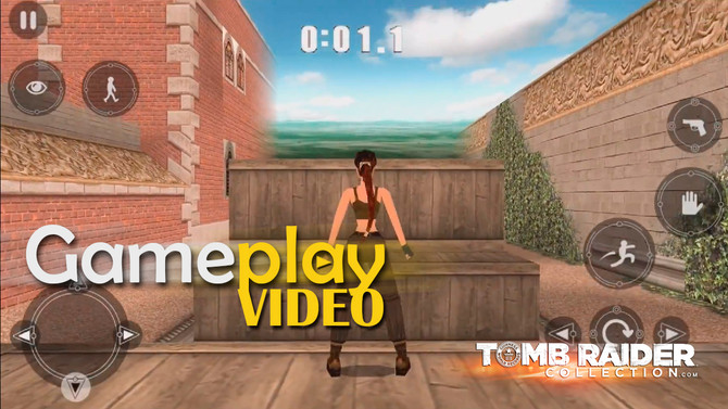 Gameplay video of Tomb Raider II for iOS