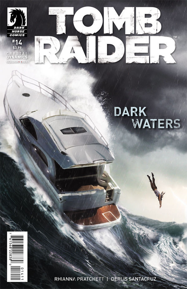 Final cover of Tomb Raider Comic #14