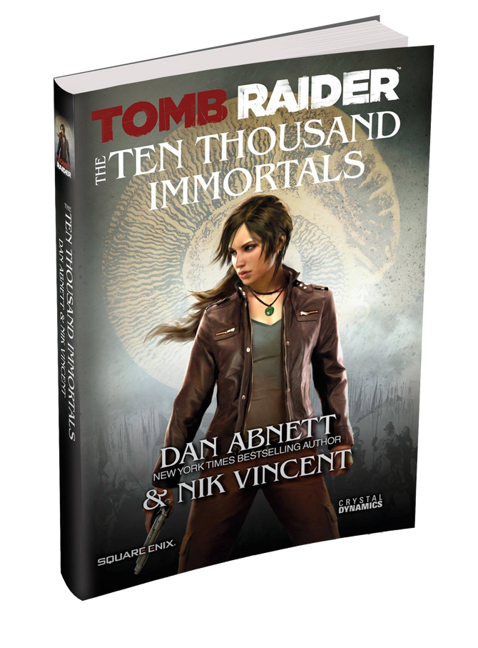 Official cover released for Tomb Raider: Ten Thousand Immortals , pre-order now!