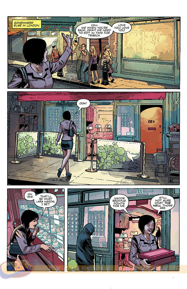 Preview pages from Tomb Raider Comic #13