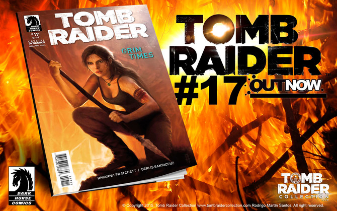 Tomb Raider Comic #17 - OUT NOW!