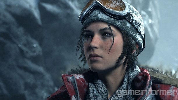 New screenshot of Rise of the Tomb Raider