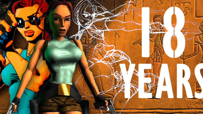 Today is the 18th anniversary of the release of the first Tomb Raider game.