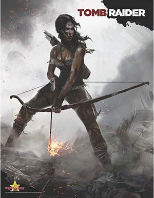 Revealed a concept art by Brenoch Adams never seen. Used for the reboot of Tomb Raider.
