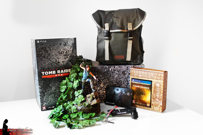 New items have arrived to my Tomb Raider Collection.