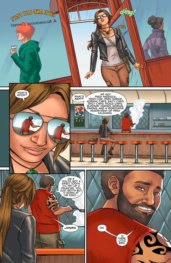 Preview pages TOMB RAIDER: SURVIVOR´S CRUSADE #2
