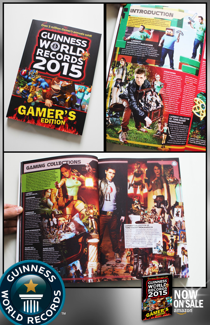 Guinness World Records Gamer´s Edition 2015 is now on SALE