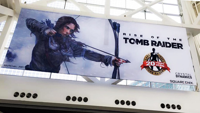 E3 2016. Tomb Raider 20th Anniversary