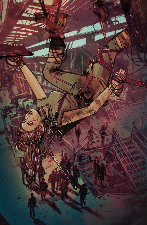 New cover for Tomb Raider II #08