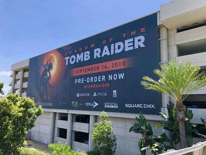 All ready for SDCC - Shadow of the Tomb Raider