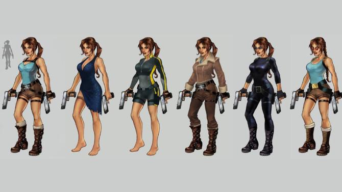 New concept-arts of Lara Croft Relic Run