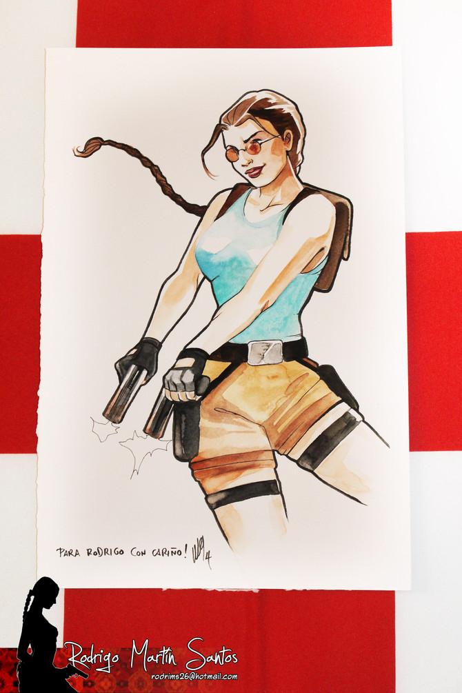 Lara Croft by María Emegé