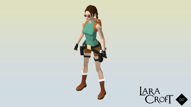 "New outfit for Lara Croft go ""Classic Lara!"""