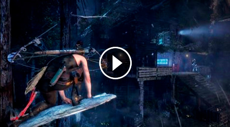 """New alternative gameplay for Rise of the Tomb Raider - """"Advancing Storm"""""""