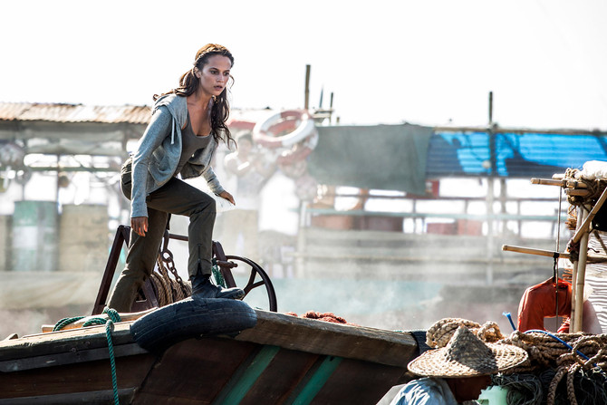 New photos from the new Tomb Raider movie