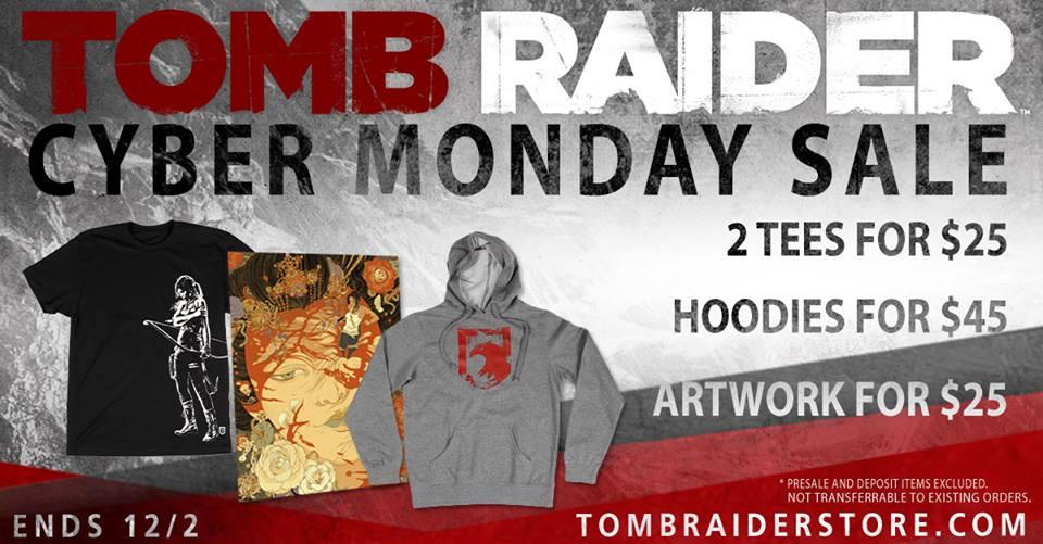 tomb raider store SALES