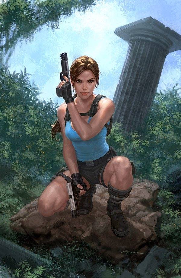 New alternative cover for Lara Croft and the Frozen Omen #1 by Andy Park