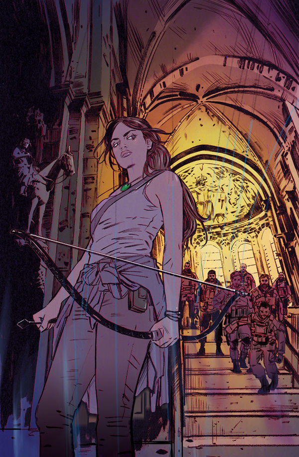 New cover for Tomb Raider II #09