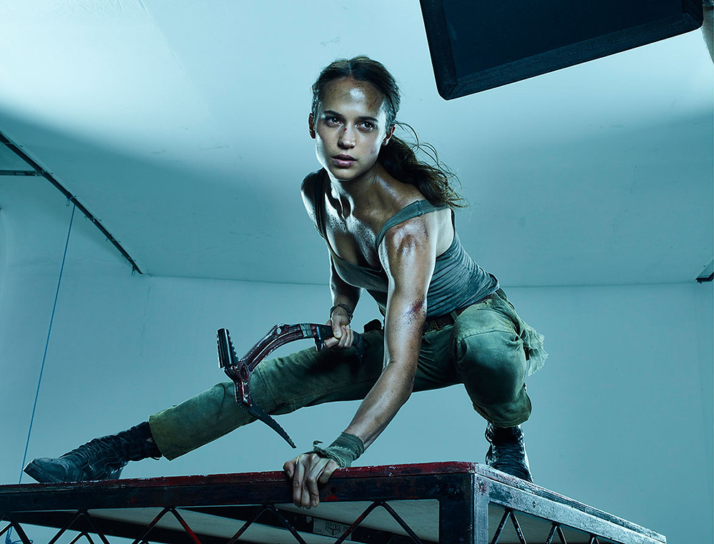 New Images From Alicia Vikander S Photo Shoot For Tomb Raider Have