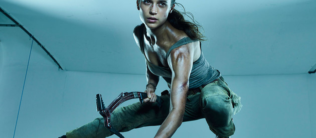 New images from Alicia Vikander's photo shoot for Tomb Raider have been leaked