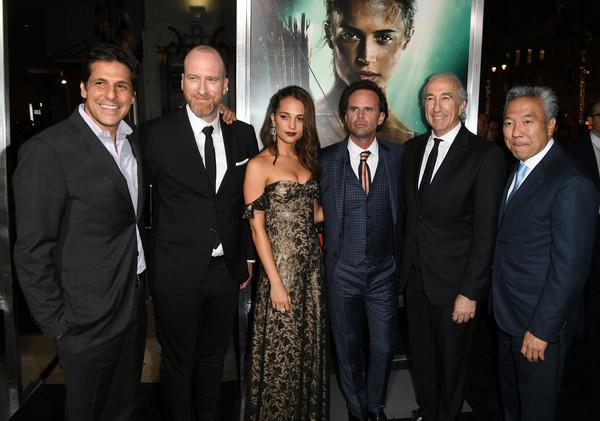 US premiere of Tomb Raider