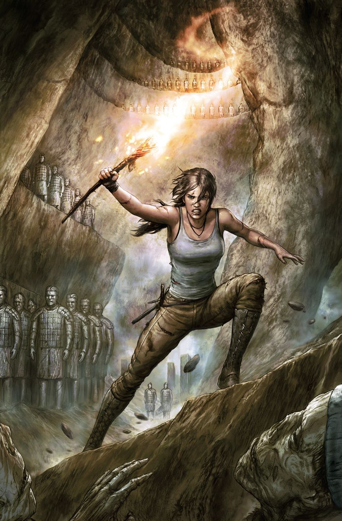 New comic series of Tomb Raider has been announced at NYCC 2015