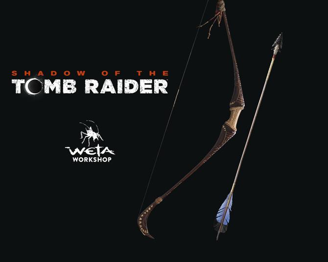 Announced new Lara Croft bow and arrow