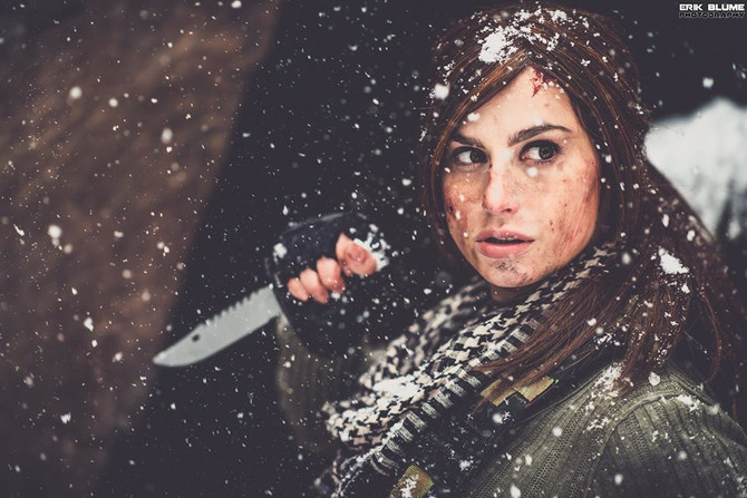 New Rise of the Tomb Raider Photoshoot with Meagan Marie