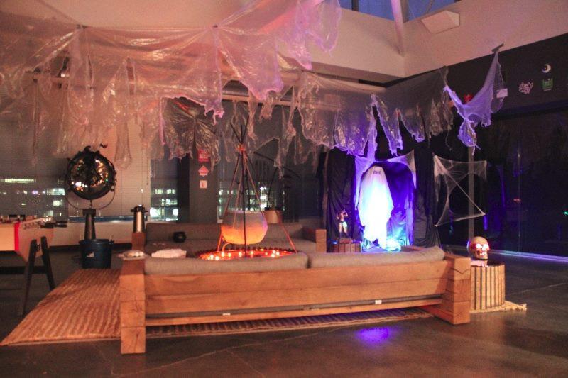 Crystal Dynamics Halloween