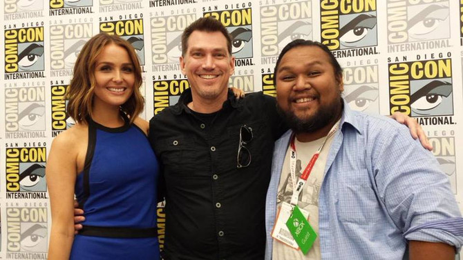 Best photos of San Diego Comic Con. Rise of the Tomb Raider