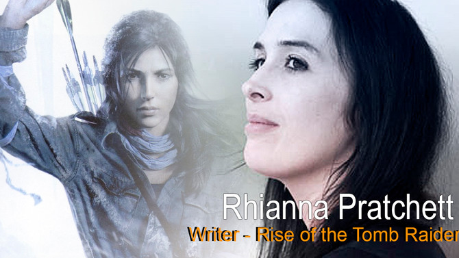 Interview with Rhianna Pratchett about the character of Lara Croft in Rise of the Tomb Raider