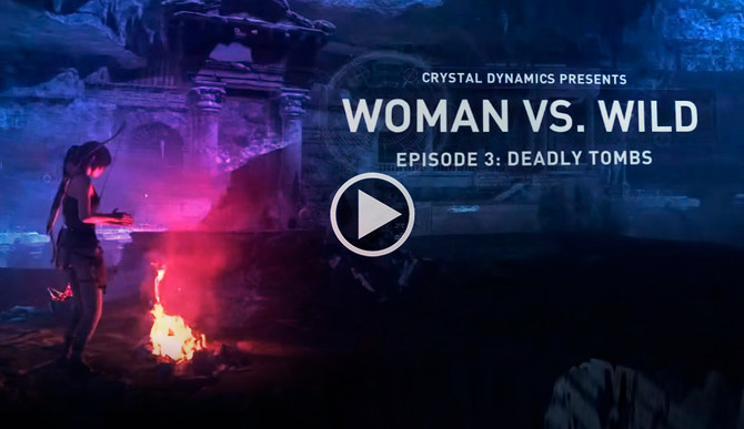 Woman Vs. Wild - Episode #3: Deadly Tombs