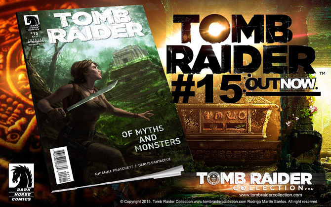 OUT NOW! Tomb Raider Comic #15
