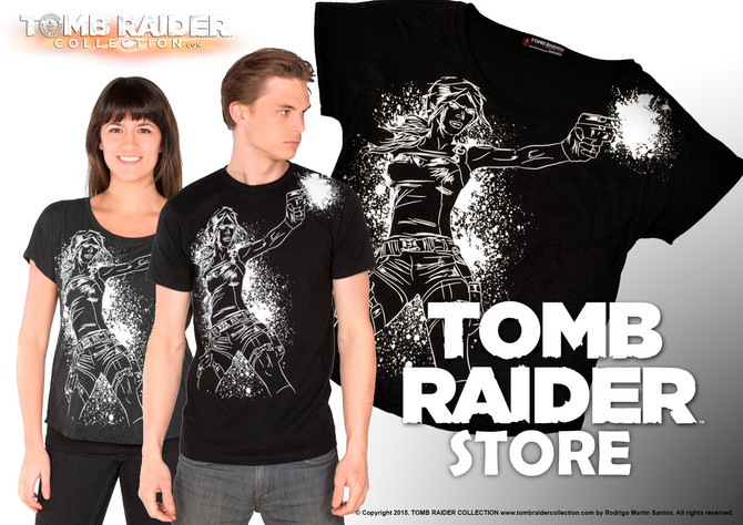 New t-shirt is now available in Tomb Raider Store