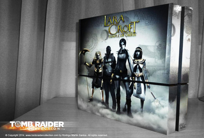 New skin of Lara Croft and the Temple of Osiris for PlayStation4
