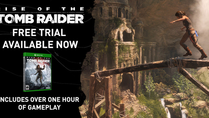Rise of the tomb Raider TRIAL VERSION now available on Xbox Live