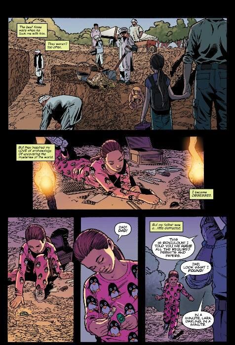 Preview: Tomb Raider #09 Comic